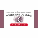 J. Herbin La Perle des Encres Fountain Pen Ink - Poussiere de Lune, 10ml bottle