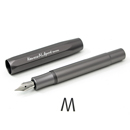Kaweco AL Sport Fountain Pen - Grey, Medium Nib