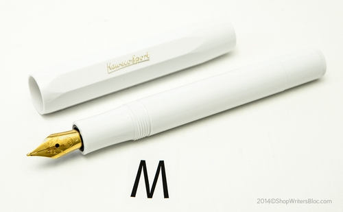 Kaweco CLASSIC Sport  Fountain Pen - White, Medium Nib - Click to enlarge