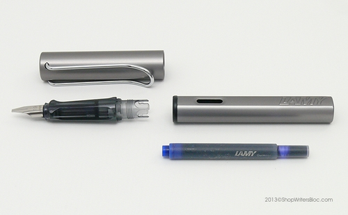 LAMY AL-Star Fountain Pen - Graphite, Broad Nib