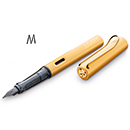 LAMY LX Fountain Pen - Gold, Medium Nib