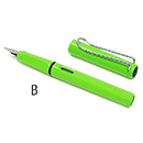 LAMY Safari Fountain Pen - Green, Broad Nib
