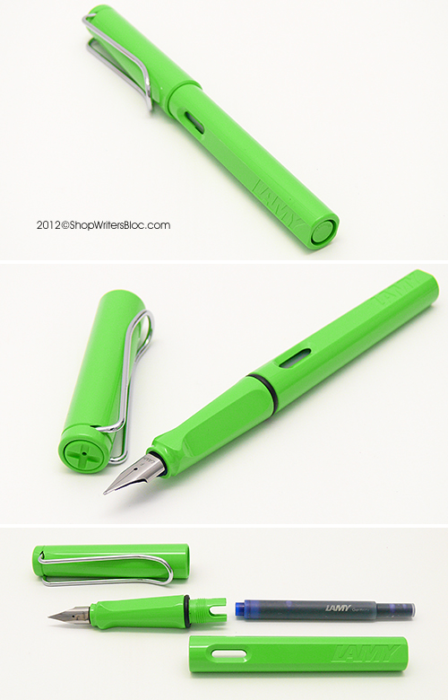 LAMY Safari Fountain Pen - Green, Extra Fine Nib