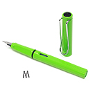 LAMY Safari Fountain Pen - Green, Medium Nib