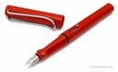 LAMY Safari Fountain Pen - Red, Broad Nib