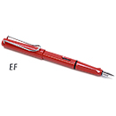 LAMY Safari Fountain Pen - Red, Extra Fine Nib