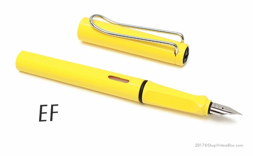 LAMY Safari Fountain Pen - Yellow, Extra Fine Nib