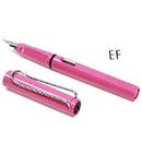 LAMY Safari Limited Edition Fountain Pen - Pink, Extra Fine Nib