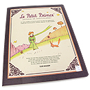 Le Petit Prince Large Lined Notebook