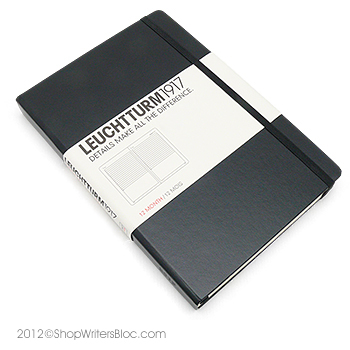 Leuchtturm1917 Daily Planner - Medium, Black, 2018