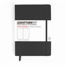 LEUCHTTURM 1917 Dot Grid Notebook - Medium, Hard Cover, Black