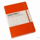 LEUCHTTURM 1917 Dot Grid Notebook - Medium, Hard Cover, Orange