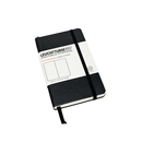 LEUCHTTURM 1917 Dot Grid Notebook - Pocket Size, Hard Cover, Black