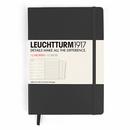 LEUCHTTURM 1917 Weekly Planner & Notebook - Large, Black, 2015