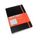 LEUCHTTURM 1917 Whitelines Link Notebook - Medium, Black, Dot Grid