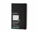 Moleskine 18 Month Weekly Notebook Diary Planner 2014-2015 - Black, Hard Cover, Large