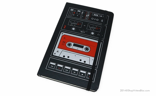 Moleskine Audio Cassette Large Notebook - Ruled