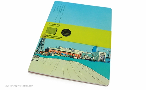 Moleskine Ricardo Cabral Cover Art Journals - Set of 2, Squared