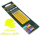 Monteverde Ink Cartridges for LAMY Fountain Pens - 5 Pack, Fluorescent Yellow