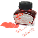 Pelikan 4001 Fountain Pen Ink, Brilliant Red