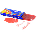 Pelikan 4001 Giant Ink Cartridges 5 Pack - Brilliant Red