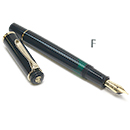 Pelikan Classic M200 Fountain Pen - Black, Fine Nib
