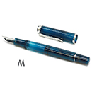 Pelikan Classic Special Edition M205 Fountain Pen - Aquamarine, Medium Nib