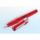 Pelikan Pelikano Fountain Pen - Red, Left-Handed Nib