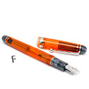 Pilot Custom 74 Fountain Pen - Orange, Fine Nib