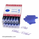 Pilot Namiki Fountain Pen Ink Cartridges 12 Pack - Blue-Black
