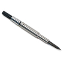 Pilot Vanishing Point Nib Neck with Twist Converter Set - Black Fine Nib