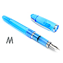 Platinum Cool Fountain Pen - Crystal Blue, Medium Nib