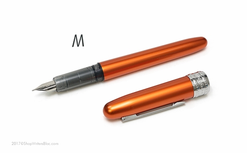 Platinum Plaisir Fountain Pen - Nova Orange, Medium Nib - Click to enlarge
