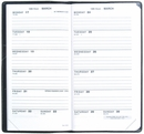 Quo Vadis Biweek #47 Pocket Planner 2017 - Refill Only