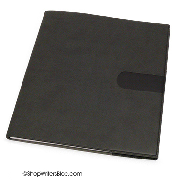 Quo Vadis Executive Desk Weekly Planner 2017 - Texas Cover, Charcoal Black