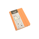 Quo Vadis Habana Journal Small, Orange - Lined, Ivory Paper