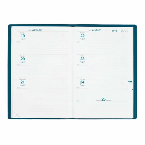 Quo Vadis Hebdo Weekly Planner 2017 - Refill Only