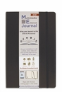 Quo Vadis Multimedia Enhanced ME Journal - Large, Black, Lined