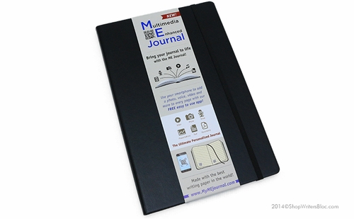 Quo Vadis Multimedia Enhanced ME Journal - Large, Black, Lined - Click to enlarge