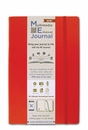 Quo Vadis Multimedia Enhanced ME Journal - Large, Red, Lined