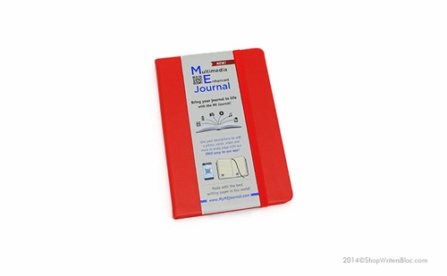 Quo Vadis Multimedia Enhanced ME Journal - Small, Red, Lined - Click to enlarge