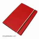 Quo Vadis Monthly 4 #76, 18 Month Desk Planner 2015/2016 - Club, Red