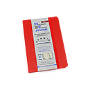Quo Vadis Multimedia Enhanced ME Journal - Small, Red, Lined