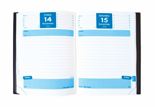 Quo Vadis Notor #21 Desk Daily Planner Refill Only 2017