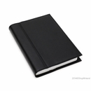 Quo Vadis Notor Compact Daily Desk Planner 2017 - Chelsea Leather, Black