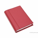Quo Vadis Notor Compact Daily Desk Planner 2017 - Chelsea Leather, Red