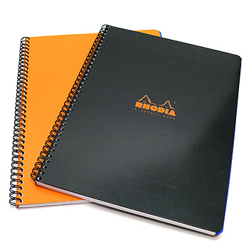 Rhodia 4 Color Book - A4 Large, Orange, Lined with Margin