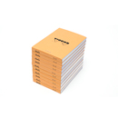 Rhodia Bloc No. 11 <br> Set of 10 - Orange, Graph
