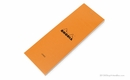 Rhodia Bloc No. 8<br>3 x 8 3/4-Orange, Lined