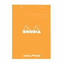 Rhodia DotPad No. 19<br>8 1/4 x 12 1/2 - Orange
